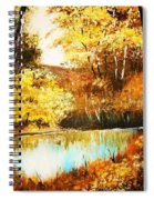 Changing Of The Season Spiral Notebook