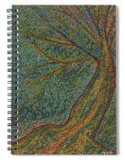 Autumn Rain Tree Spiral Notebook