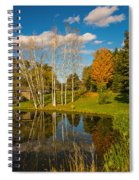 Autumn Reflecting Spiral Notebook