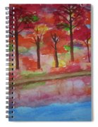 Autumn Reflection Spiral Notebook