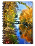Autumn Reflections On A Friday Afternoon Spiral Notebook