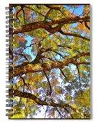 Autumn Revealed Spiral Notebook