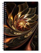 Autumn Reverie Abstract Spiral Notebook