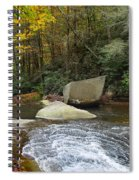 Autumn River Fall Spiral Notebook