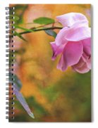 Autumn Rose Spiral Notebook