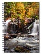 Autumn Rush Spiral Notebook