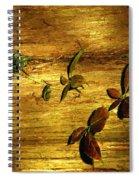 Autumn Rust Spiral Notebook