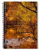 Autumn Scene Spiral Notebook