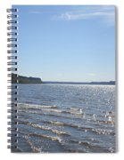 Autumn Shore Spiral Notebook