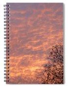 Autumn Sky Spiral Notebook