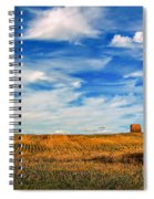 Autumn Sky Spiral Notebook
