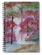 Autumn Song Spiral Notebook