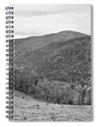 Autumn Song Monochrome Spiral Notebook