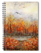 Autumn Song Spiral Notebook