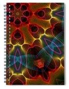 Autumn Star Spiral Notebook