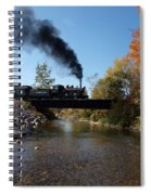 Autumn Steam Spiral Notebook