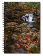 Autumn Streams In Tamworth Spiral Notebook