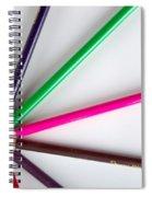 Autumn Sun Spiral Notebook
