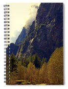 Autumn Sun Glow Spiral Notebook