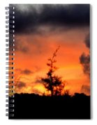 Autumn Sunrise From The Back Deck Spiral Notebook