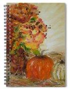 Autumn Sunrise Spiral Notebook