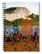 Autumn Sunset On The Hills Spiral Notebook