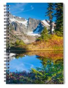 Autumn Tarn Spiral Notebook
