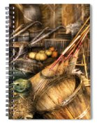 Autumn - This Years Harvest Spiral Notebook
