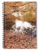 Autumn Tranquility Spiral Notebook
