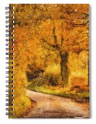 Autumn Trees Spiral Notebook