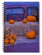 Autumn Truck Spiral Notebook
