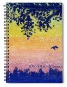 Autumn Twilight Spiral Notebook