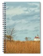 Autumn Twilight Pano Spiral Notebook