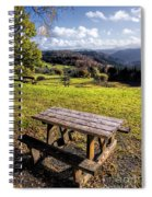 Autumn View Spiral Notebook