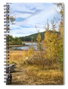 Autumn View At Spooner Spiral Notebook