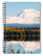 Autumn View Of Mt. Drum - Alaska Spiral Notebook
