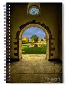 Autumn Views Spiral Notebook