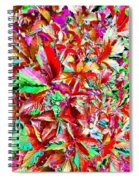 Autumn Virginia Creeper Spiral Notebook