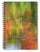 Autumn Water Colors Spiral Notebook