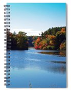 Autumn Waterway Spiral Notebook