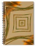 Autumn Web Spiral Notebook