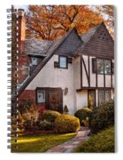 Autumn - Westfield Nj - Visting Grandpa's  Spiral Notebook
