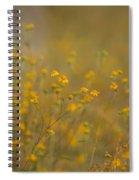 Autumn Wildflowers  Spiral Notebook