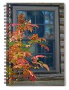 Autumn Window Spiral Notebook