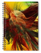 Autumn Wings Spiral Notebook