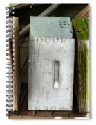 Autumn Winter And Spring Spiral Notebook