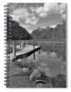 Autumn Without Color Spiral Notebook