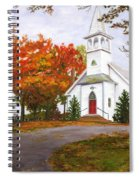 Autumn Worship Spiral Notebook
