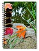 Autumn Zen Spiral Notebook