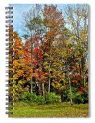 Autumnal Foliage Spiral Notebook
